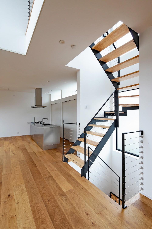 その他事例:階段(東松戸の家)