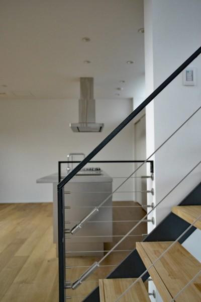 階段 (東松戸の家)