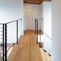 東松戸の家 (廊下)