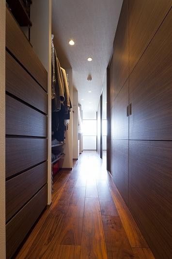 リノベーション・リフォーム会社:リノベーションカーサ「大容量の収納スペースのある家(リノベーション)」
