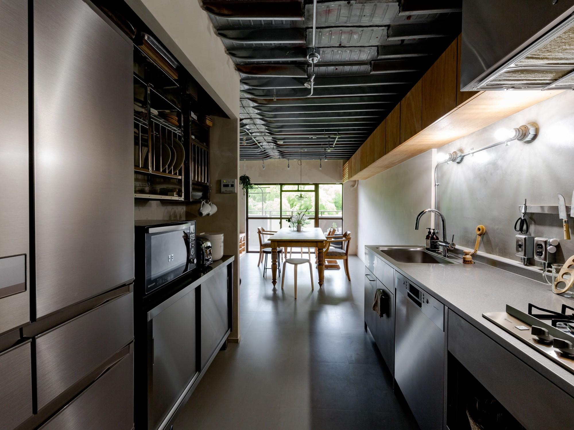 キッチン事例:キッチン(見知らぬ、天井)