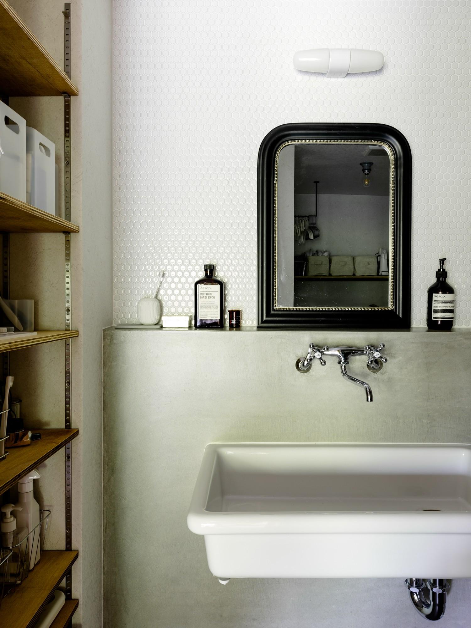 バス/トイレ事例:洗面(見知らぬ、天井)