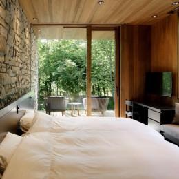 A山荘 (ベッドルーム)