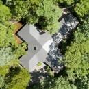 A山荘の写真 空からの様子