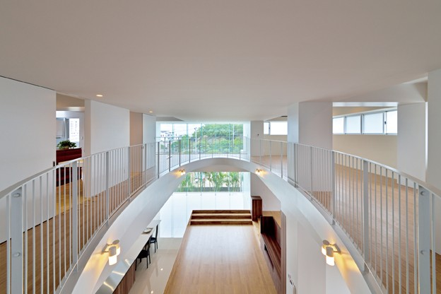 子供部屋事例:2階オープンスペース(西原町の家)