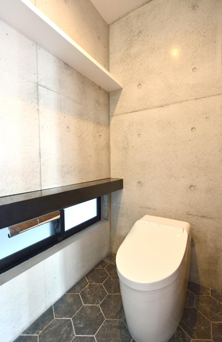 バス/トイレ事例:トイレ(南城市の家)
