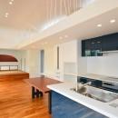 読谷村の家の写真 LDKから和室を見る