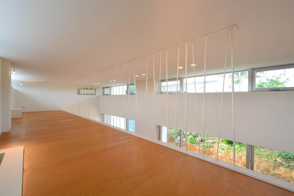 読谷村の家 (2階オープンスペース)