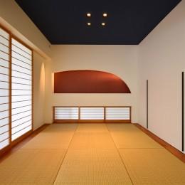 読谷村の家 (和室)