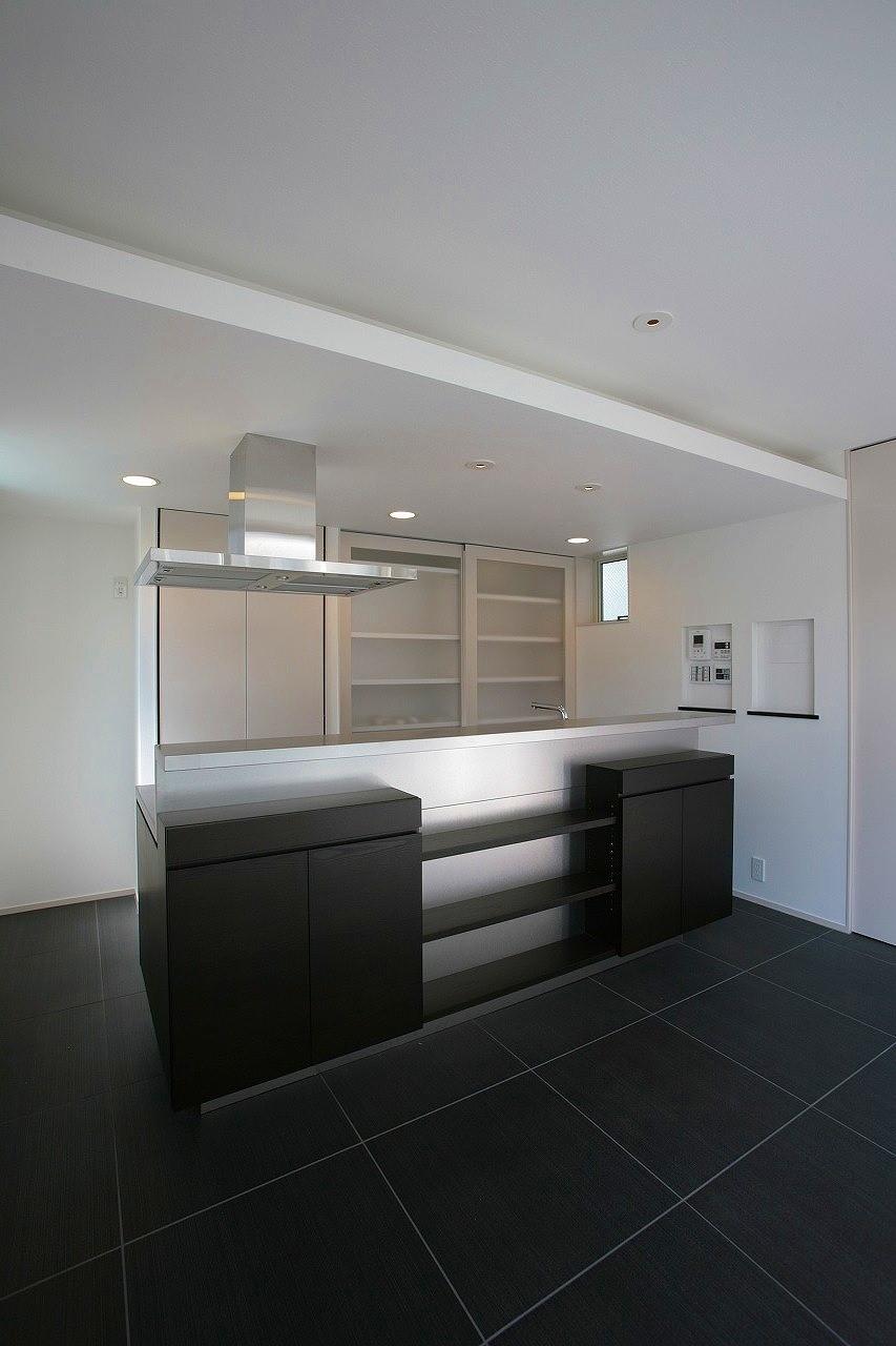 キッチン事例:キッチン(西荻の家)