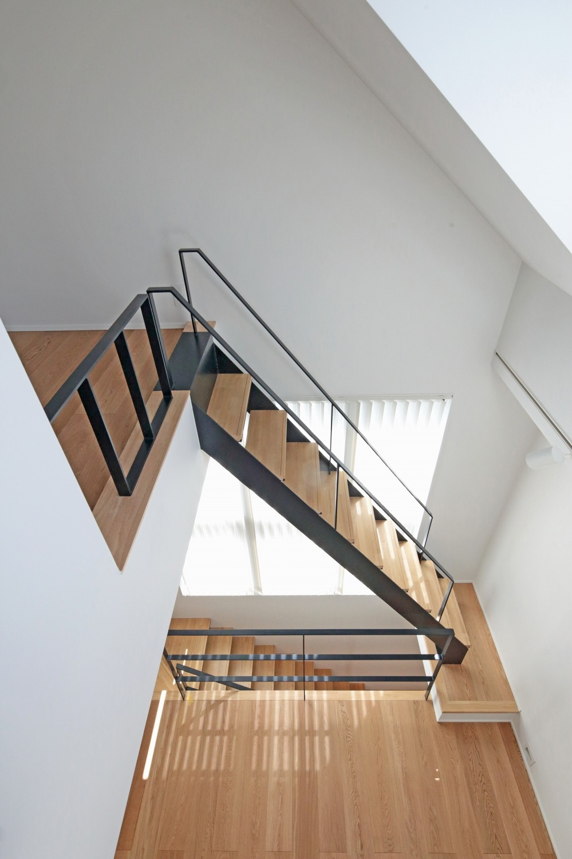その他事例:階段(代々木上原の家)