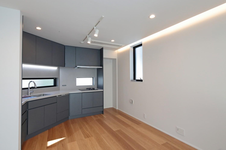キッチン事例:キッチン(代々木上原の家)