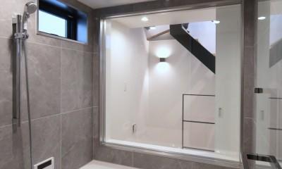代々木上原の家 (浴室)