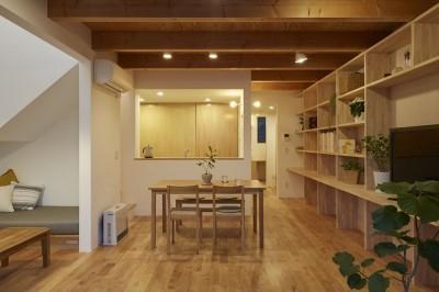 高窓の家 (ダイニングキッチン)