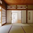 H様邸_47 年の歴史の面影を感じながら2 世帯で暮らすの写真 和室