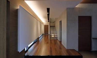 警固の家 (玄関)
