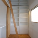 あざみ野南の住宅 / 一体空間の中に様々な居場所を設けるの写真 書斎