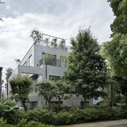 渋谷区I邸 / I House In Shibuya (外観)