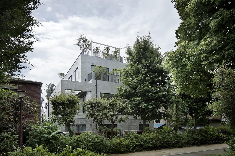 外観事例:外観(渋谷区I邸 / I House In Shibuya)