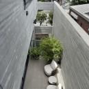 渋谷区I邸 / I House In Shibuyaの写真 インナーテラス