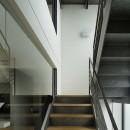 渋谷区I邸 / I House In Shibuyaの写真 階段