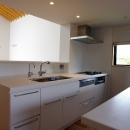 あざみ野南の住宅 / 一体空間の中に様々な居場所を設けるの写真 キッチン