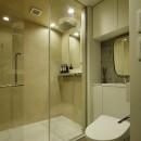 渋谷区I邸 / I House In Shibuyaの写真 シャワールーム