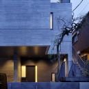 渋谷区I邸 / I House In Shibuyaの写真 エントランス外観