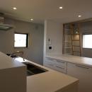 キッチン、書斎