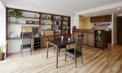 造り付け家具で室内一新