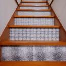 M様邸_リビングは子どものアトリエの写真 階段