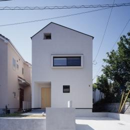 あざみ野南の住宅 / 一体空間の中に様々な居場所を設ける (外観)