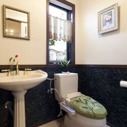 長年抱えていた不満をすべて解消したリノベーション (トイレ)