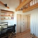 木のぬくもりを感じる家の写真 ロフトのある子供部屋