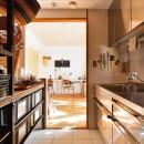 横浜市N様邸 ~光と緑が映える家~の写真 キッチンスペース