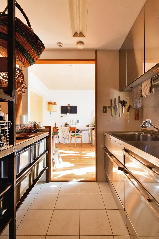 キッチン事例:キッチンスペース(横浜市N様邸 ~光と緑が映える家~)
