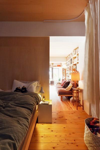 ベッドルーム (横浜市N様邸 ~光と緑が映える家~)