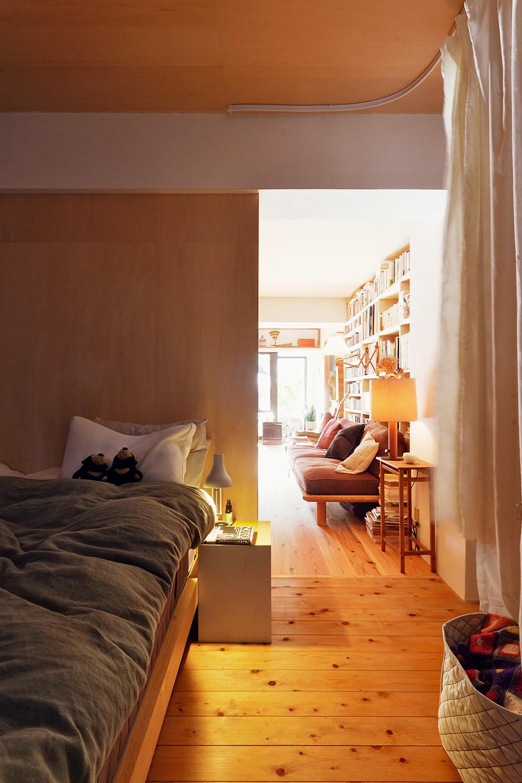 ベッドルーム事例:ベッドルーム(横浜市N様邸 ~光と緑が映える家~)