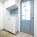 心地よいホワイトオークの住まいの写真 玄関