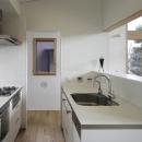 練馬の住宅 / 様々な場所とお互いの距離感を楽しむ住まいの写真 キッチン