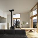 森吉直剛の住宅事例「練馬の住宅 / 様々な場所とお互いの距離感を楽しむ住まい」