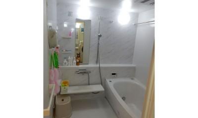 小さかった浴室を大きな1坪タイプに|NYスタイルの子育て真っただ中・マンションリノベーション
