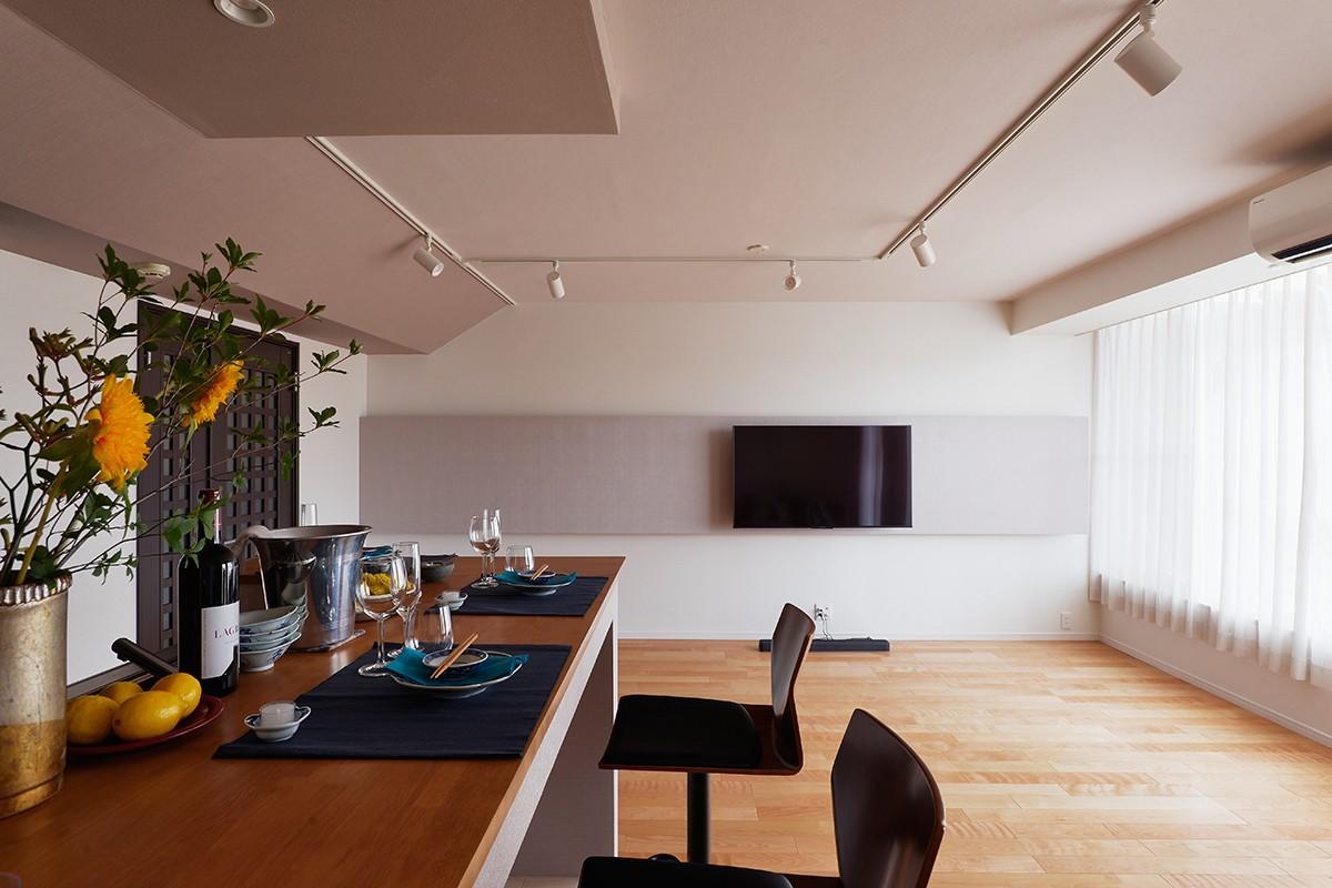 リビングダイニング事例:キッチン(大人の隠れ家 ~サロンのような隠れ家バー~)