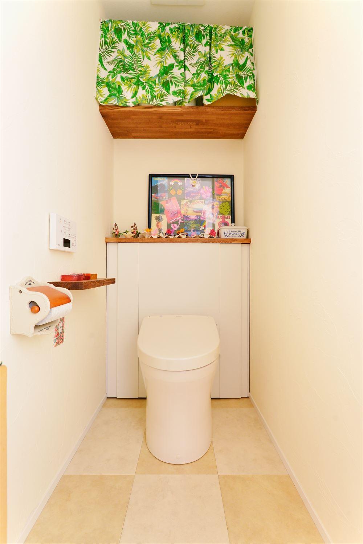バス/トイレ事例:トイレ(U様邸_ゆったりくつろげるみんなの居場所)