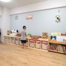 回遊性で家事ラク!開放感で子どもが喜ぶ間取りに!の写真 おもちゃも整理整頓!広々とした子供部屋