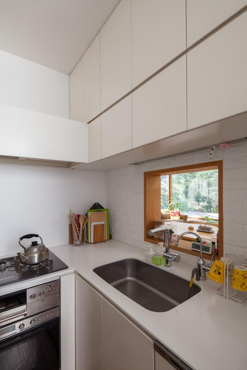 洗足池の住宅 (キッチン)