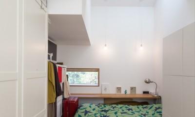 洗足池の住宅 (子供部屋)
