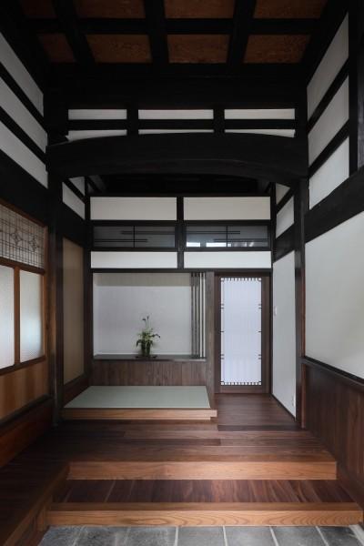 玄関 (京丹後の民家)