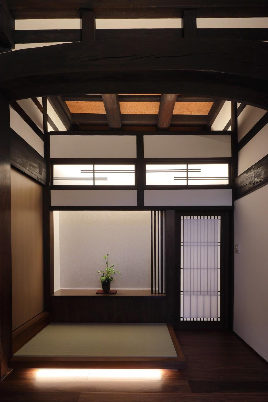 京丹後の民家 (玄関)
