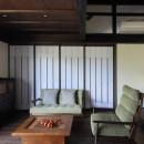 京丹後の民家の写真 居間